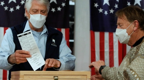 US Election Day: First vote cast as both Biden, Trump predict victory