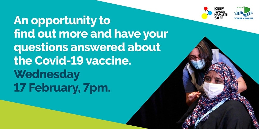 Tower Hamlets Council to answer residents' questions on Covid-19 vaccine