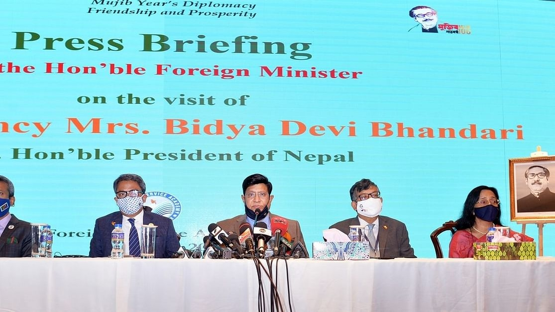 Nepal interested to use ports, inland shipping network, develop air connectivity: Momen