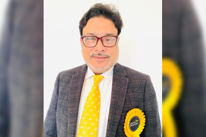 Ohid Uddin officially declared as a candidate