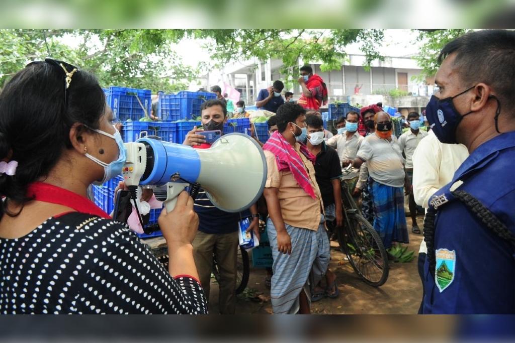 Community transmission of Indian variant in Bangladesh