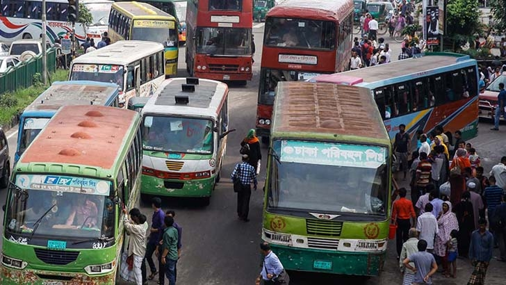 Bus, launch services resume for workers