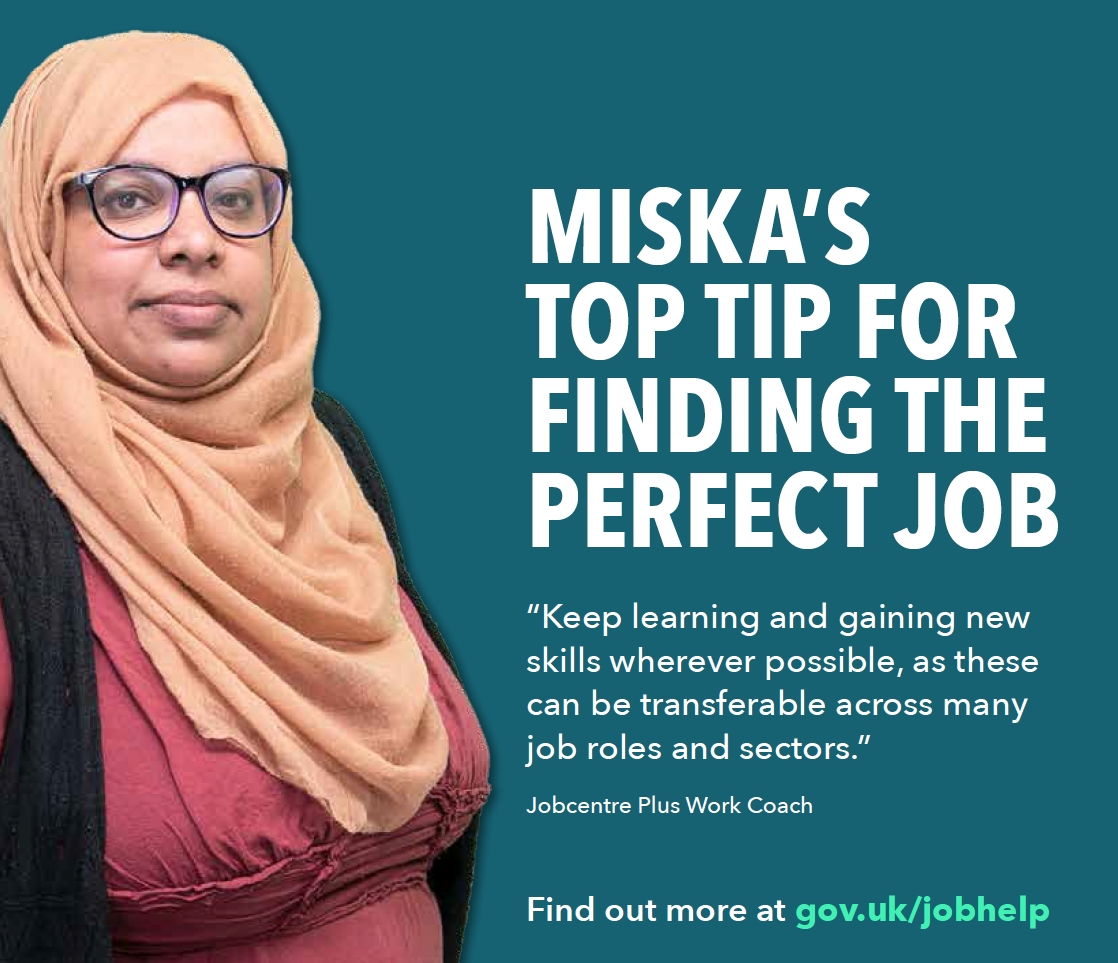 DWP work coaches are helping jobseekers find work