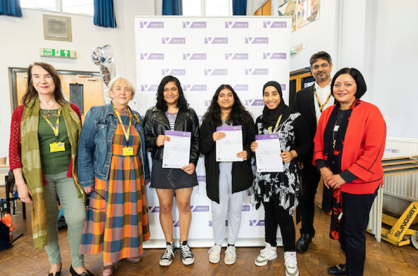 A Level and BTEC success for Newham students