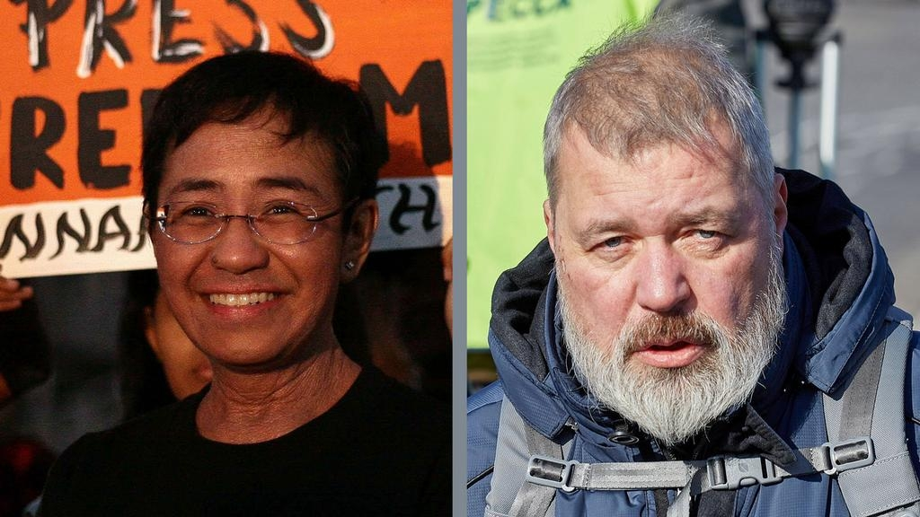 Journalists Ressa and Dmitry win Nobel Peace Prize