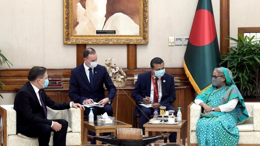 Russia keen to build second nuclear power plant in Bangladesh, says envoy to PM Hasina